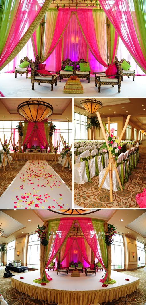 Shoestring pavilion indian moroccan inspiration for Asian wedding house decoration