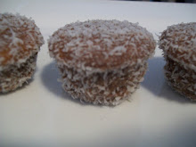 The Lamington cup cake