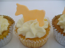 Flourless Orange Cup Cakes