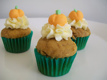 Pumpkin Cup Cakes
