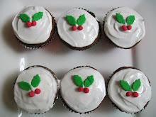 Christmas Mocha Spiced Cup Cake