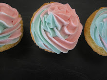 Two toned icing piping