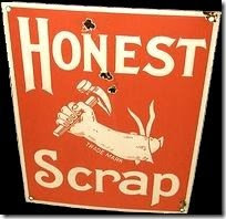 Honest Scrap Award for Speedcat