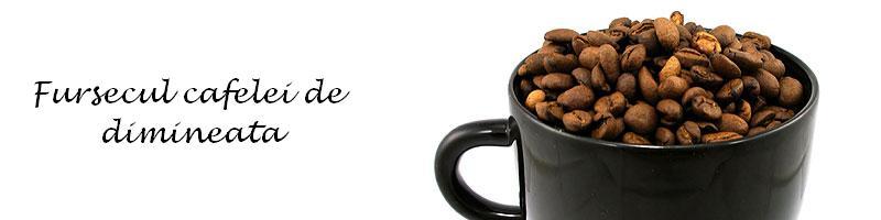 Fursecul cafelei de dimineata