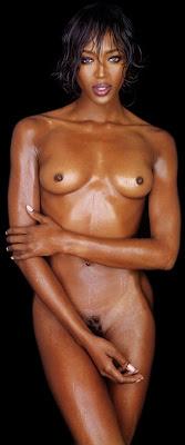 Naomi Campbell naakt