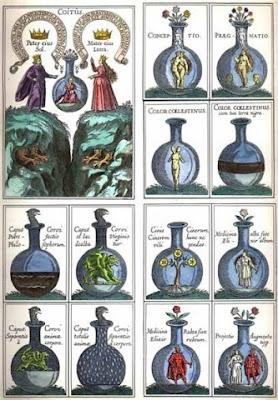 Grabados y dibujos alquimicos- Alquimistas-piedra-filosofal