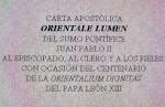 Iglesias Orientales - Cartas, decretos, exhort., discursos papales