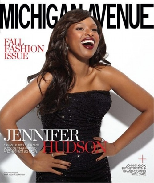 Jennifer Hudson looks absolutely stunning on the cover of Michigan Avenue ...