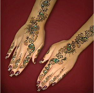 Indian Mehndi Designs for Eid