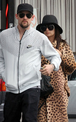 Nicole Richie And Joel Madden at Sushi Lunch