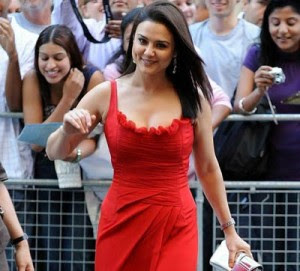 Bollywood Actresses in Red Dress