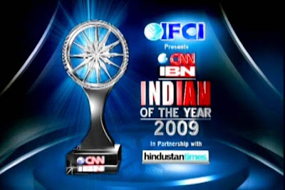 The Winners of Indian of the Year 2009