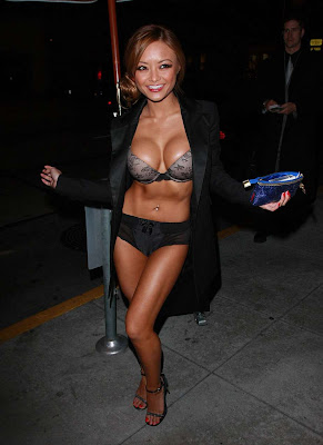 Tila Tequila in Black Outfit