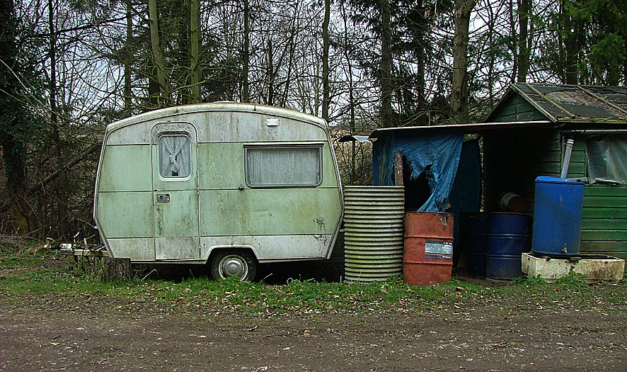 Fantastic Old Caravan  Colin Kinnear  Geograph Britain And Ireland