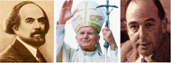 Н. Бердяев Папа Й. Павел II К. С. Луис