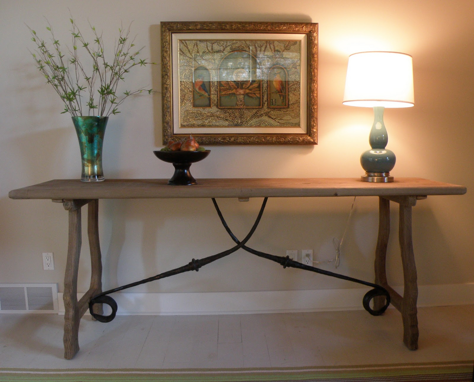Our Trestle Console Table