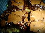 Cuadraditos de frambuesa y chocolate