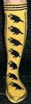 Hufflepuff Pride Socks