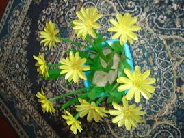 Flores de Garrafas Pet