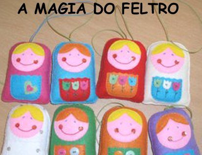 A magia do feltro