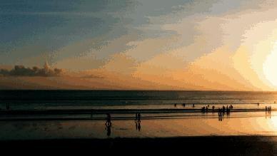kuta, kuta beach