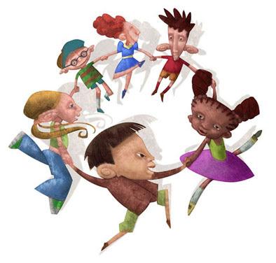 Niños de diferentes razas, Ed. Trillas