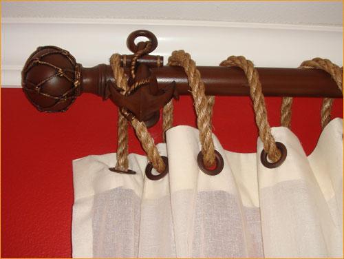 Finestra decorative hardware nautical window treatments for Decor hardware