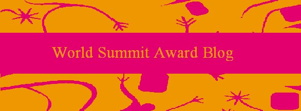 World Summit Award Blog