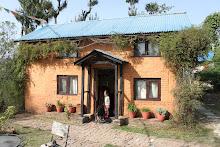 Notre maison à Nagarkot, Népal