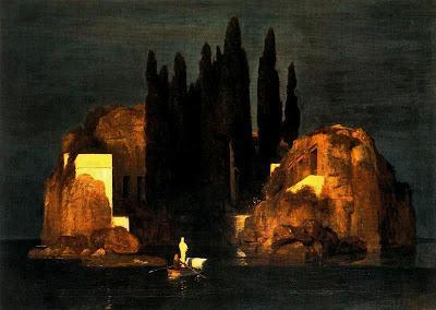 La isla de los muertos, Arnold Böcklin