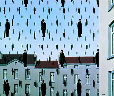 Golconde, Rene Magritte