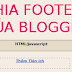 Chia chân blogger thành 3 cột