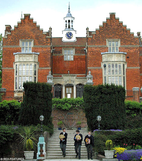 "Tweedland"" The Gentlemen's club: HARROW SCHOOL"
