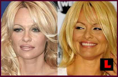 Pamela Anderson Face PHOTOS