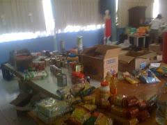 Venezolanos ayudando a Haití