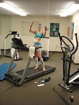 Barefoot Running On Treadmill