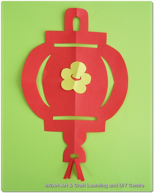 Paper Craft Chinese New Year Decor