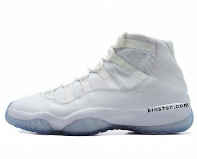 Air Jordan XI (11) All White 25th Anniversary Retros Releasing Holiday 2010