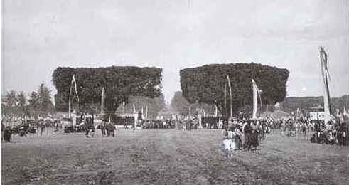 alun-alun lor (utara) tahun 1888