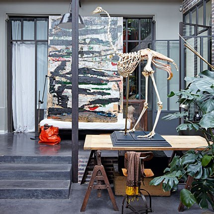 European chic more industrial chic for Loft banlieue parisienne