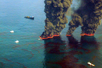 oil spill image uscg