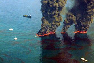 oil spill image uscg