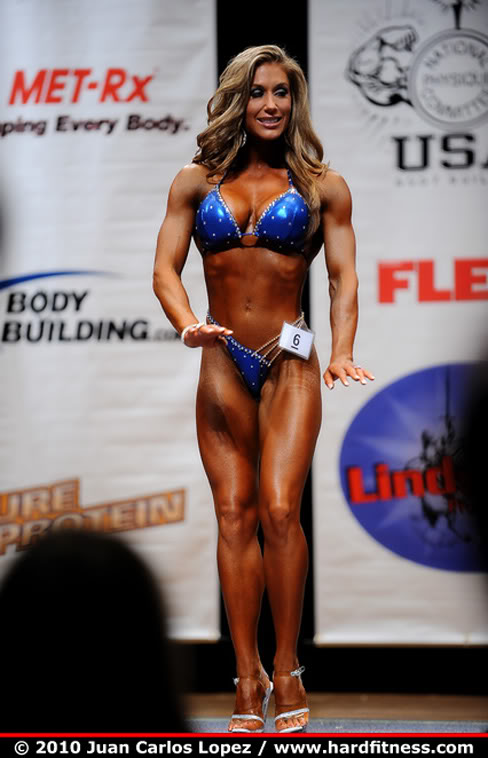Female Muscle Figure Fitness