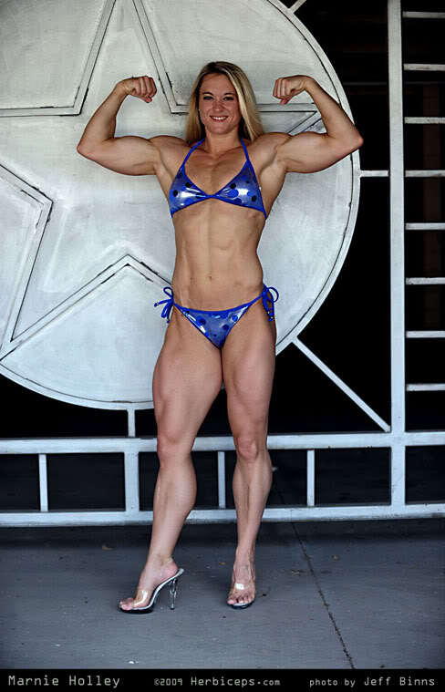 Female Fitness Muscle