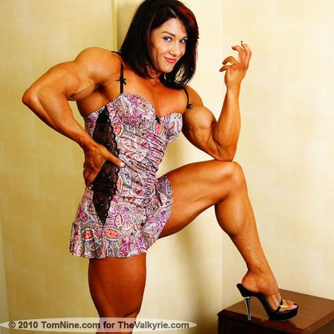 Alina Popa Female Muscle Bodybuilder
