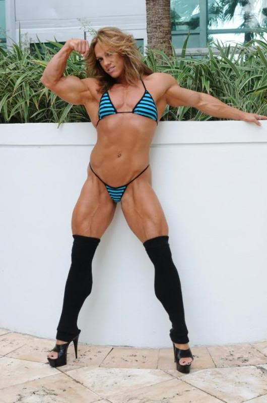 Sheila Bleck IFBB Pro Bodybuilder Female Muscle