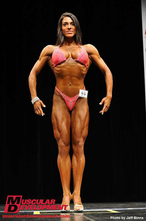 Maria-Luisa Diaz Figure Competitor 1st Place 2010 Eastern USA Championships Female Muscle