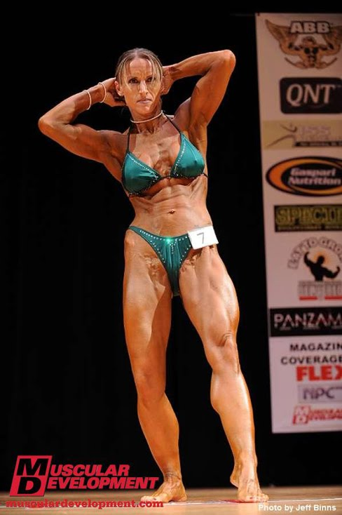 Christyn Bisson Female Bodybuilder 2010 New England Championships Female Muscle