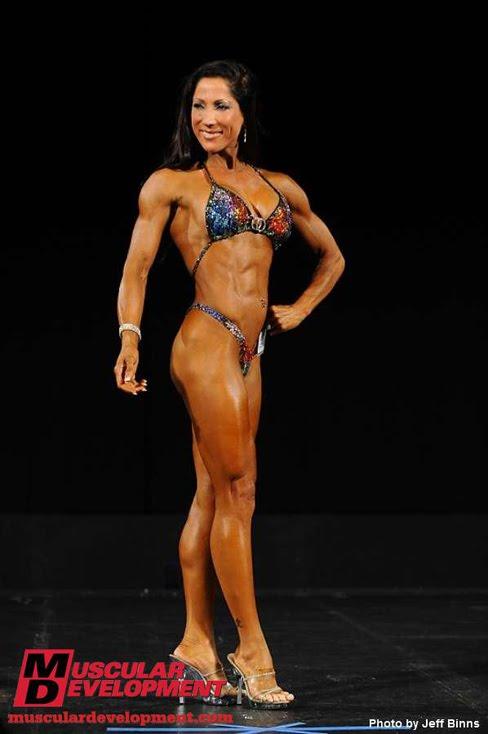Jami DeBernard Figure Competitor Female Muscle