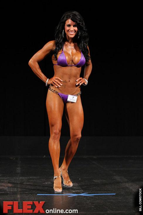 Amanda Latona Bikini Competitor Female Muscle